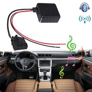 Image 1 - SITAILE voiture Bluetooth Module Radio stéréo Aux adaptateur de câble avec filtre sans fil entrée Audio pour VW MFD2 RNS RNS2