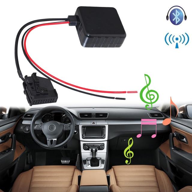 SITAILE voiture Bluetooth Module Radio stéréo Aux adaptateur de câble avec filtre sans fil entrée Audio pour VW MFD2 RNS RNS2