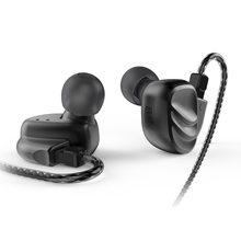 BQEYZ KC2 2BA + 2DD hybride dans l'oreille écouteurs écouteurs HIFI basse DJ Monito course Sport écouteurs bouchon d'oreille casque écouteurs avec micro