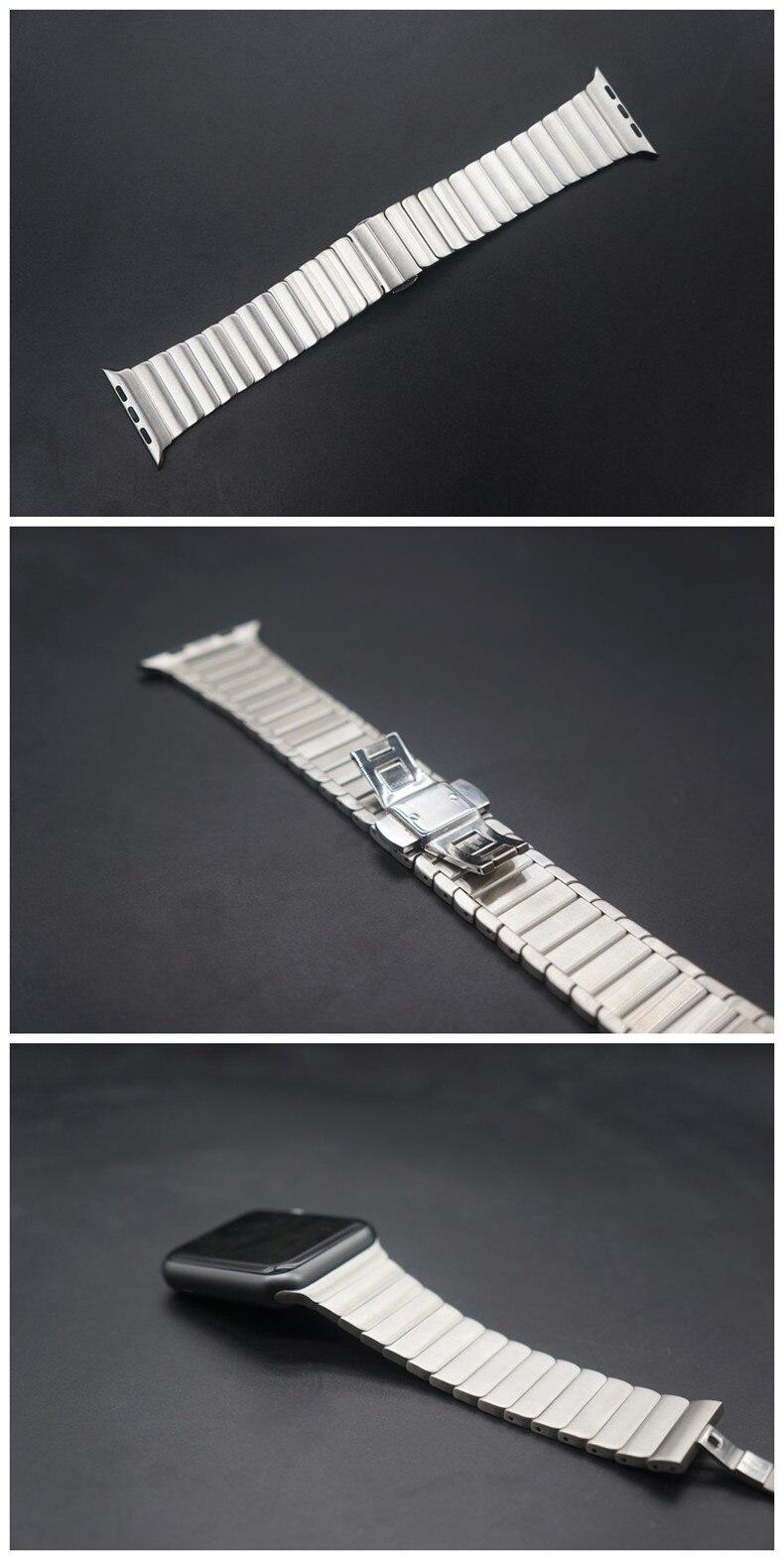 Luxo de Metal inoxidável strap & Pulseira