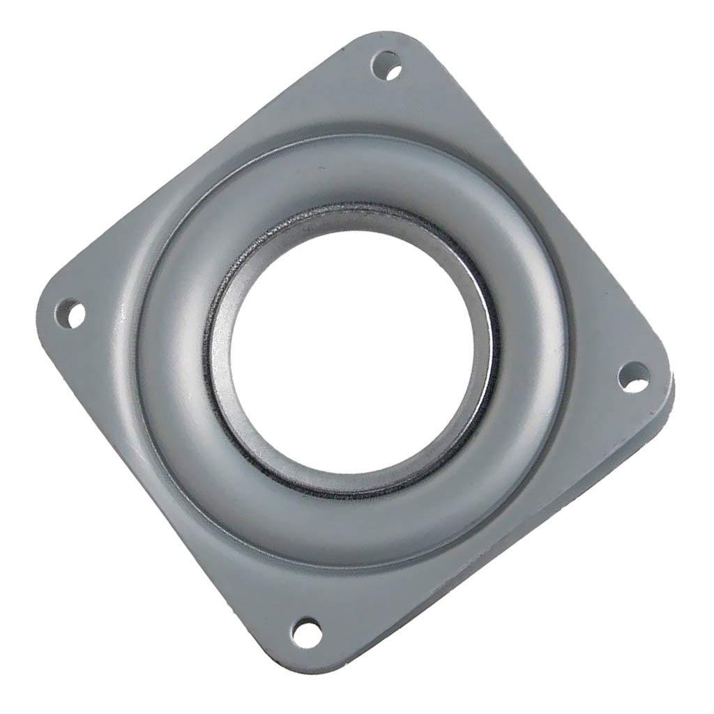155x155x8 Axial-kugellager Kapazität 50kg Gytb Plattenspieler 360 ° Drehscheibe Kugellager Mit Rollen Verzinktem Stahl