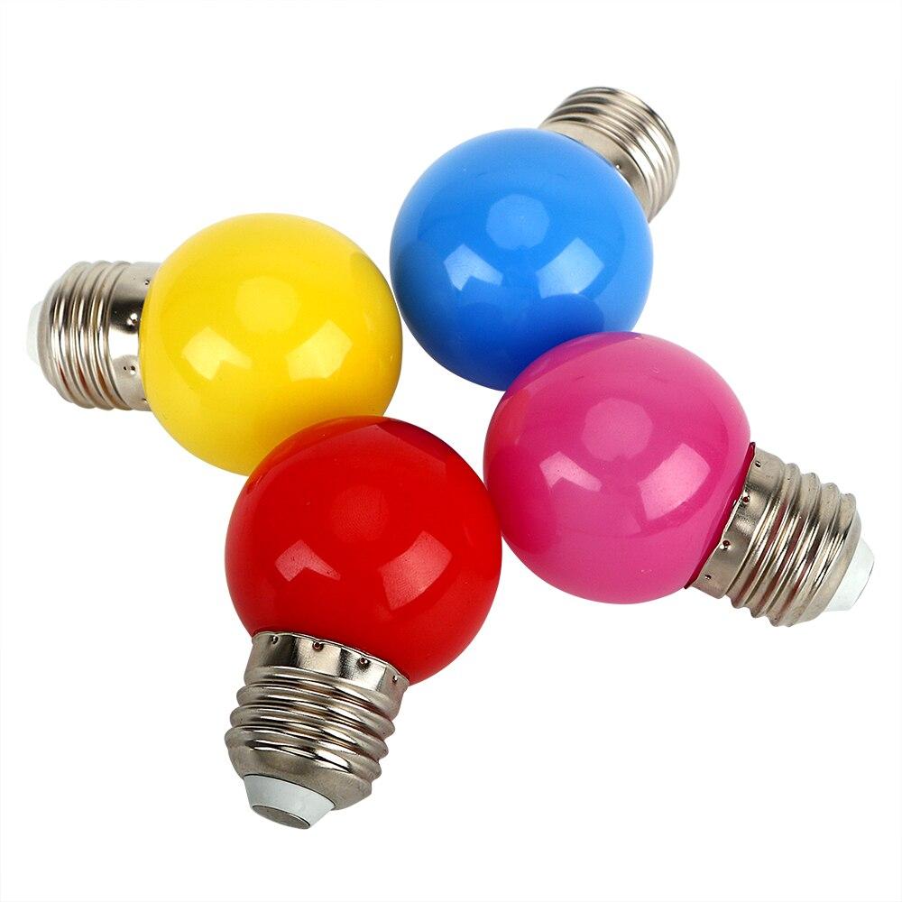 Itimo partie éclairage de vacances lumière e27 0 6 w led bullbs éclairage intérieur 4 couleur 220
