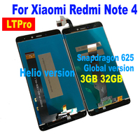NEW MTK Helio X20 Version Global Version LCD Display Touch Screen Panel Assembly For Xiaomi Redmi