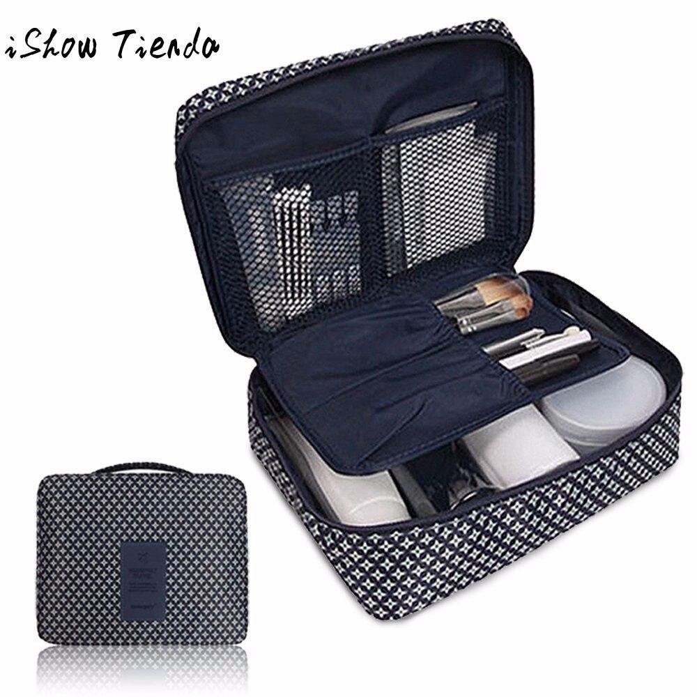 Pockettrip Clear Cosmetic Makeup Bag Toiletry Travel Kit Organizer Handbag Porta Maquiagem
