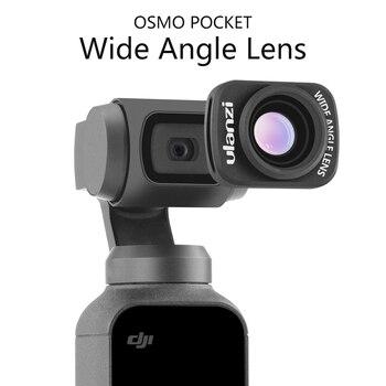 Ulanzi OP-5 0.65X Широкоугольный объектив макро объектив для Dji Osmo Карманный карданный Аксессуар Магнитный HD объектив камеры для Osmo Карманный