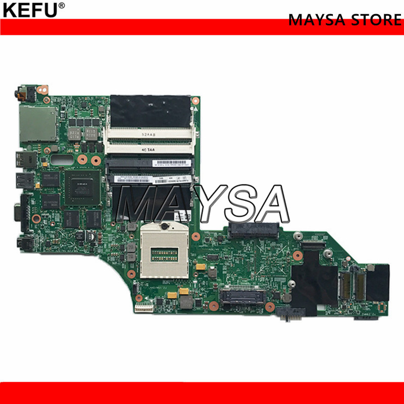 W540 motherboard 12291-2 N15P-Q3-A1 K2100M 48.4L013.021 DDR3 Fit For Lenovo Thinkpad W540 Laptop Motherboard tested 100% work image