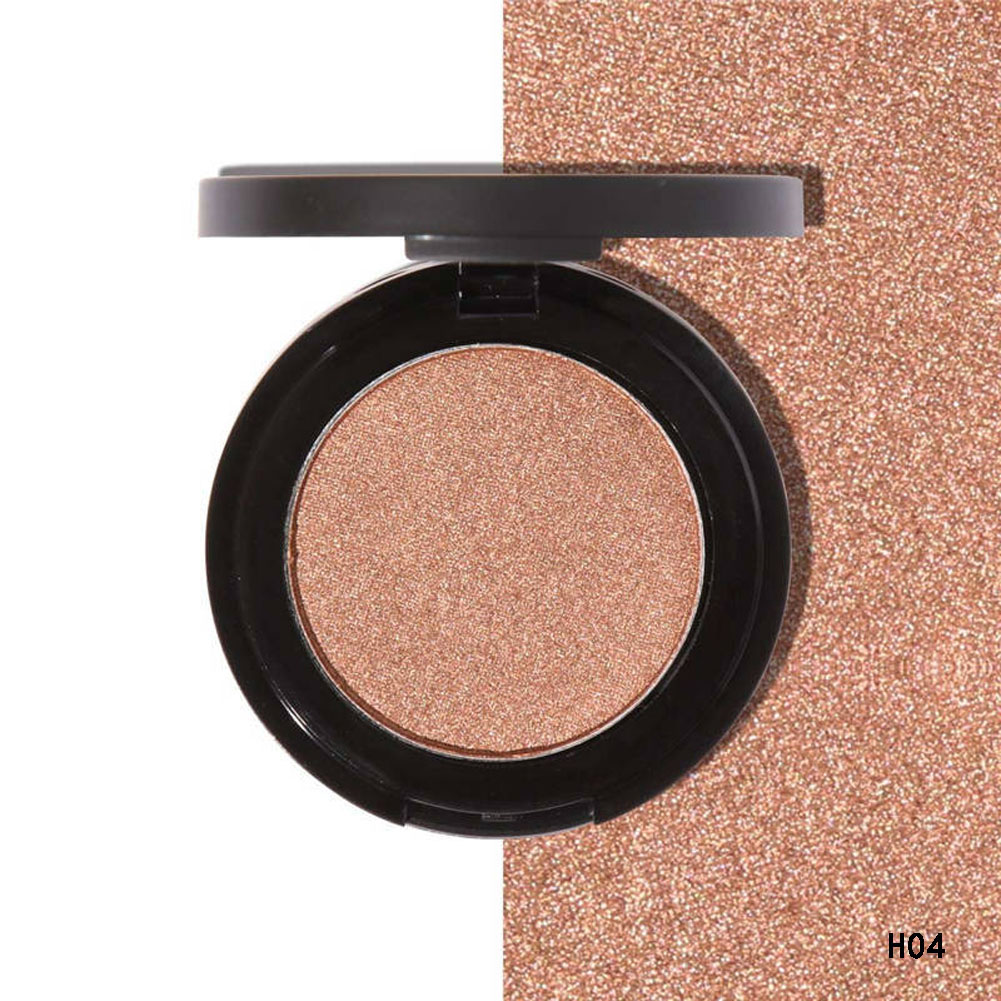 Matte Eyeshadow Palettes Pigments Single Color Smoky Waterproof Shining Glitter Eyes Shadow Makeup Palette