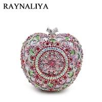 European And American Style Women Evening Bags Diamonds Party Geometric Minaudiere Designer Handbags High Quality ZH