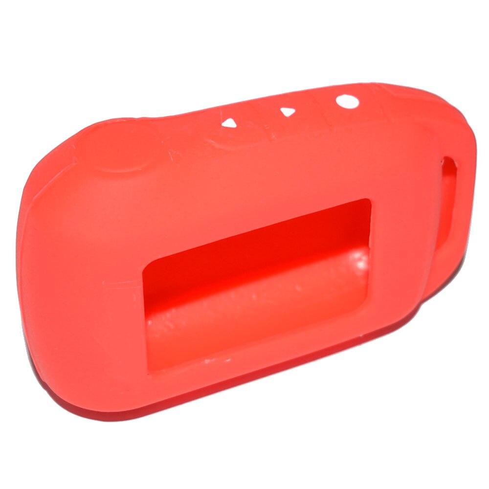 ATOBABI 6 Colors A94 V62 Rasti silikoni Keychain Për Alarmin Ruse - Aksesorë të brendshëm të makinave - Foto 5