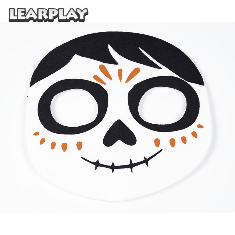 CoCo Migul Cosplay Masker Dag av det döda ansiktet Mask för - Maskeradkläder och utklädnad