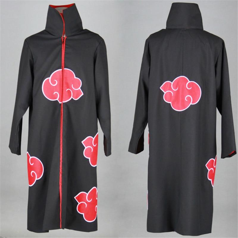 Anime cosplay Naruto Akatsuki Cloak Cosplay Costumes Orochimaru Itachi Uchiha Madara Sasuke Pein Robe Trench Coat Halloween