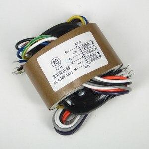 Image 1 - 1pc 30VA 30W 9V * 3 + 6.3V + 240V R Kern Transformator voor TUBE voorversterker/DAC/versterker