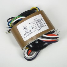 Transformador de núcleo R para preamplificador de tubo, 30W, 9V x 3 + 6,3 V + 240V, 1 ud.