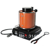 Jewelry Tools 3kg Melting Furnace With Six High Purity Graphit Crucible Two Heating Coil Six Creamic