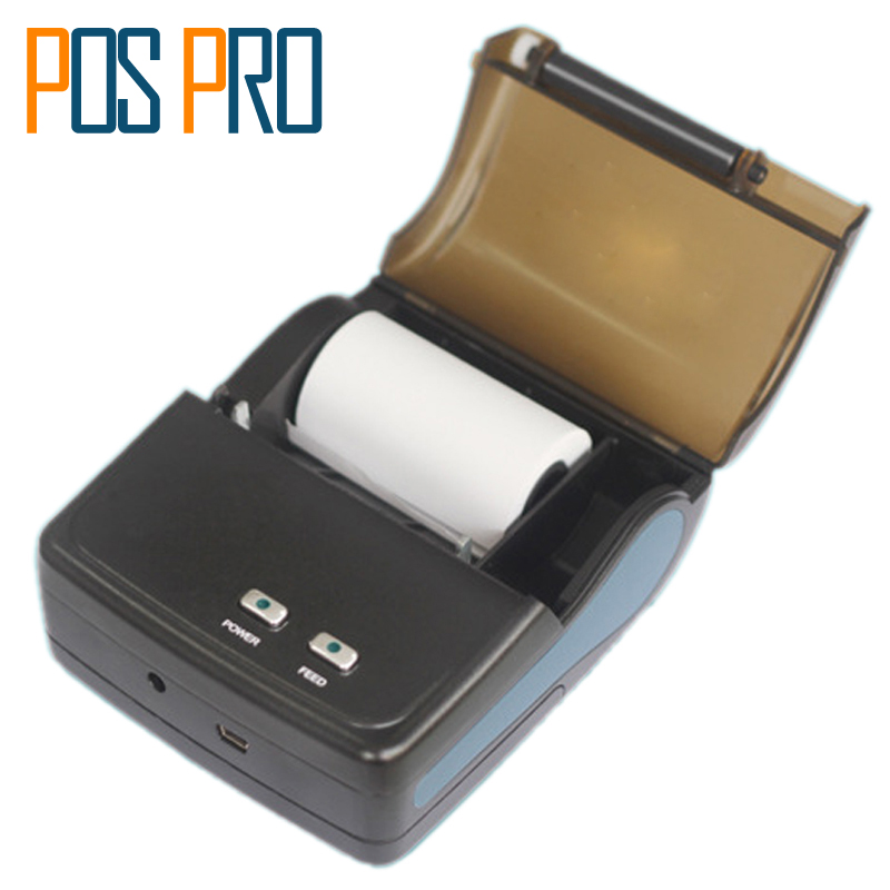 IMP010 Hot sales 58mm Mini Printer Thermal Receipt and Label Printer For Android Bluetooth/WIFI With Lithium batteries handheld