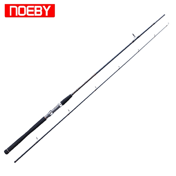2 Sections Sea Bass Fishing Rod 99% Carbon Spinning Pole FUJI Guides Powerful Fishing Rod Mullet Carp Rods Hard EVA Handle top 2 74m brave spinning fishing rod fuji guides 98