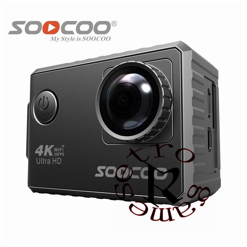 2019 original SOOCOO F500 4K WIFI Action Sport Kamera Ultra HD Wasserdichte Unterwasser DV Camcorder HDMI LCD Sport Kamera r25