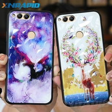 3D diamond-textured mobile case is suitable for Huawei Honor 8c 8x 10i diamond cover luxury