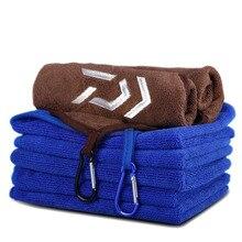 DAIWA serviette pour la pêche, serviette pour les mains absorbante pour le sport en plein air, absorbant, pour la randonnée, lalpinisme, nouvelle collection