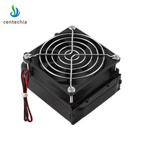 Centechia New Aluminum Water Cooling 80mm Radiator Cooler With Fan For CPU PC Heat Raditor High