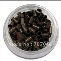 High quality copper  Micro Beads Link 1000 pieces per bottle    BROWN COLOR