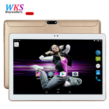 Free Shipping 10 inch Tablet PC Octa Core 4GB RAM 64GB ROM Dual SIM Cards Android 5.1 GPS Tablets pcs Call phone Gifts MT6592