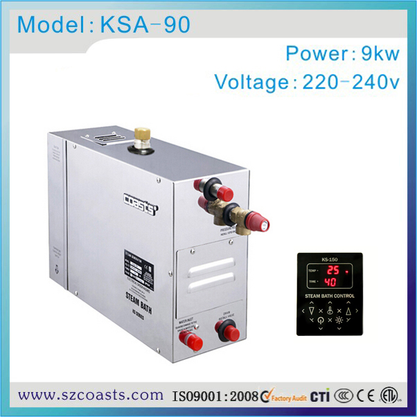 US $307 0  Coasts KSA 201# stainless steel 9kw steam room generator 20  years factory-in Sauna Rooms from Home Improvement on Aliexpress com    Alibaba