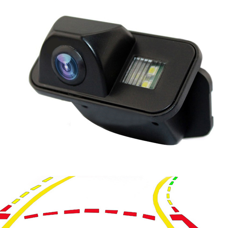 Car Dynamic Trajectory Reverse Backup Rear View Camera For Toyota Corolla Auris Avensis T25 T27 Vehicle Tracks Parking CameraCar Dynamic Trajectory Reverse Backup Rear View Camera For Toyota Corolla Auris Avensis T25 T27 Vehicle Tracks Parking Camera