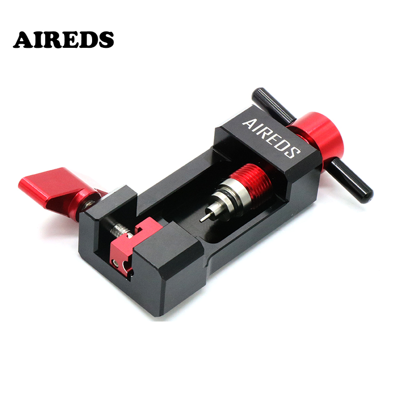 AIREDS Bike Repair Tools Bike Oiling Needle Inserting Aid Tool Pipeline Connector Oiling Olive Head  Oil Needle Push BicycleTool