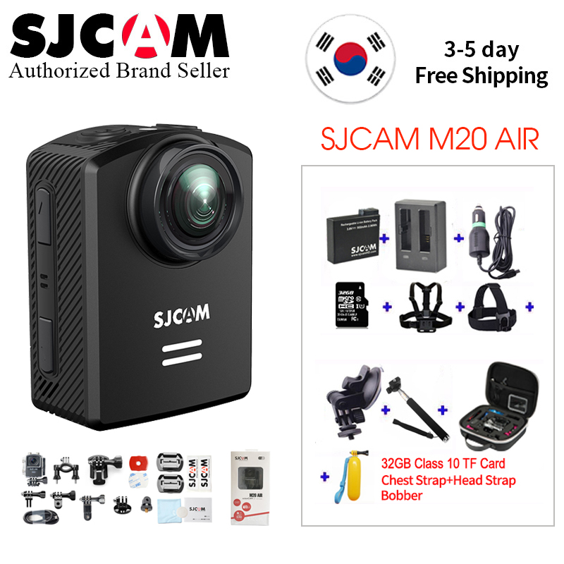 SJCAM M20 Air 140 Degree Wide Angle WiFi Helmet Action Camera Novatek96658 Chipset 1080P 30 FPS Ultra HD Extreme Sports DV Cam