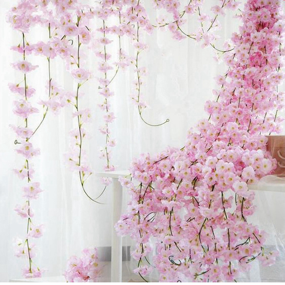FENGRISE 1pc 90cm Artificial Ivy Leaf Green Garland for Wedding Birthday Home Decoration DIY Artifical Plants Garden party