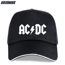 2019  Cotton Trucker Caps ACDC Print Baseball Cap Fashion Band Heavy Metal Rock AC/DC Music Fans Hip Hop Snapback Sun Hats