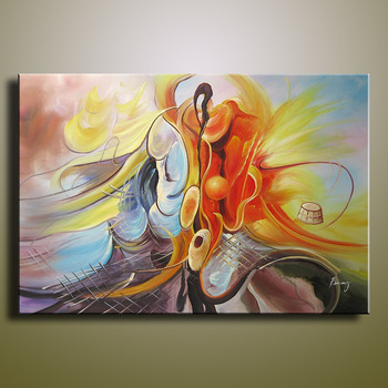 handmade oil painting on canvas modern 100%  Best Art Abstract oil painting original  directly from artis  XD1-248