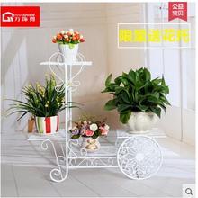European flower shelf, wrought iron multilayer shelf floor, solid wood flower wearing other showy bracketplant sitting room ba стоимость