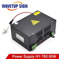 WaveTopSign HY T60 Co2 Laser Power Supply for CO2 Laser Engraving Cutting Machine with Long Warranty