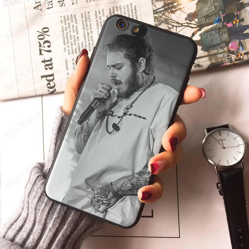 Post Malone Phone Case for iPhone X