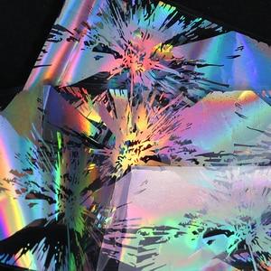Image 5 - BORN PRETTY  Nail Foil Stickers Geometric Laser Nail Transfer Foil Sticker Nail Art Decals Stickers Paper 1 Box