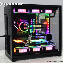 Курган LLO11-SDBV1, водные доски для Lian Li PC-O11 динамический чехол, для Intel cpu водоблок и один GPU корпус