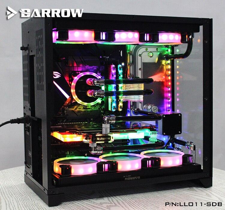 Barrow LLO11-SDBV1, Hidrovia Placas Para Lian Li PC-O11 Caso Dinâmico, para Intel CPU GPU Bloco De Água & Single Edifício
