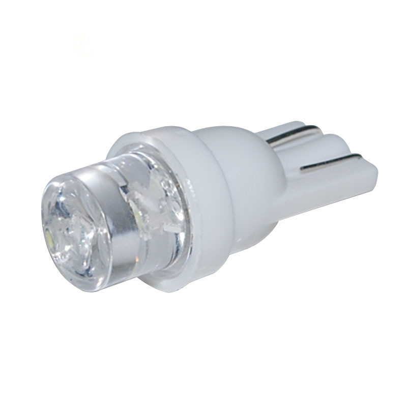 iSincer 1 Piece T10 Car White LED 194 168 SMD W5W Wedge Side Light Bulbs 12V Car External Clearance Lights Wedge Side Bulbs t10 w5w 4 smd 1210 3528 dc12v 194 168 car wedge led lights 4led marker lamps auto reading dome bulbs 4smd