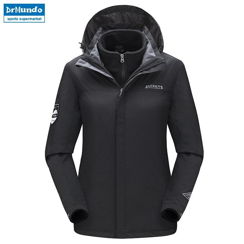 Veste de Ski femmes imperméable Ski de montagne chaud grande taille polaire Ski-wear extérieur Snowboard veste coupe-vent manteau de neige vêtements