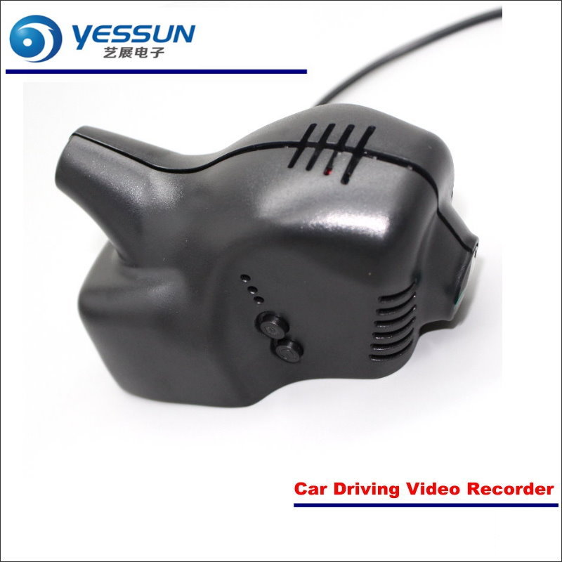 цена YESSUN Car DVR Driving Video Recorder For Volkswagen VW Tiguan 2012-2017 Front Camera Black Box Dash Cam Plug OEM 1080P WIFI
