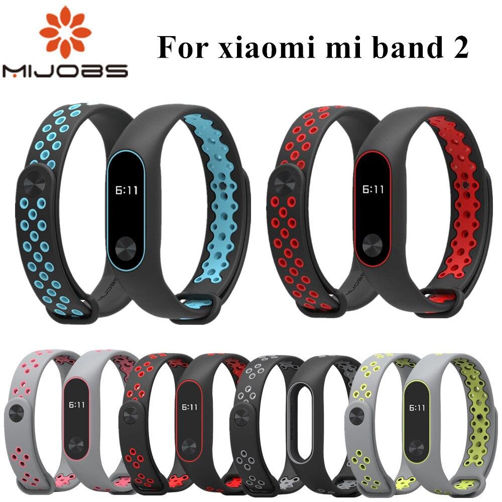 For Mi Band 2 Strap Bracelet Wrist Strap For Xiaomi Mi Band 2 Watch Mi Band2 Accessories Smart Bracelet Sport Silicone Strap