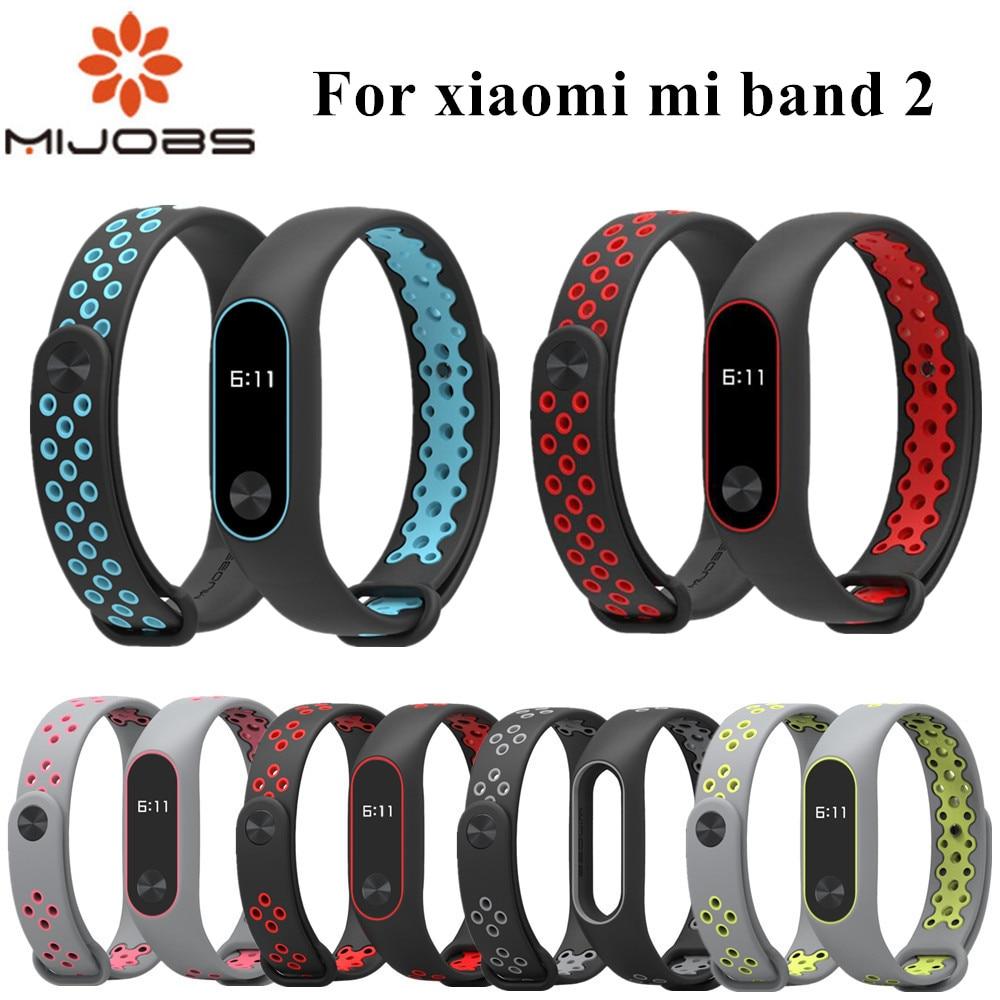 Mi Band 2 Strap Bracelet Wrist Strap For Xiaomi Mi Band 2 Watch Xiomi Mi Band2 Accessories Smart Bracelet Sport Silicone Strap