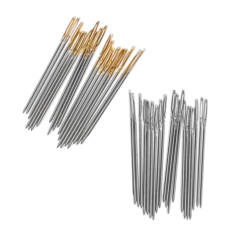 11CT Embroidery Cross Stitch Hand Needles Tool T-MEKA 100 PCS Cross Stitch Needles
