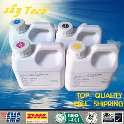 Sublimation ink specialized suit for Epson printer , 1000ML Per color , 4L total ,especially suit for T-shirt ,phone shell, Mugs