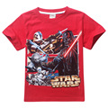 New 2017 baby boys star wars clothing t shirt kids nova star wars top t-shirt children summer children star wars meninos roupas