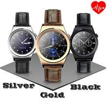 Touchscreen Smart Bluetooth Uhr Pulsuhr Armbanduhr X10 Voll Runde reloj Smartwatch mit MTK2502 Reloje inteligente