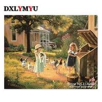 100 DIY 5D Diamond Mosaic Child Girl Handmade Diamond Painting Cross Stitch Kits Diamond Embroidery Patterns