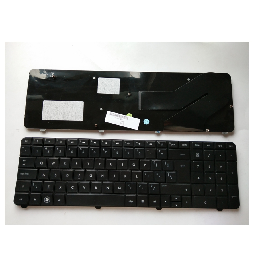 Black UI New English keyboard FOR HP CQ72 G72 Laptop keyboard laptop keyboard for gigabyte m1000 m1000n q1000c black ui us international